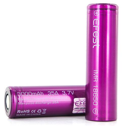 Аккумулятор  Efest IMR 18650 (3000mAh, 35A)