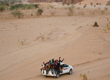 Niger: The transit route for migrants and refugees