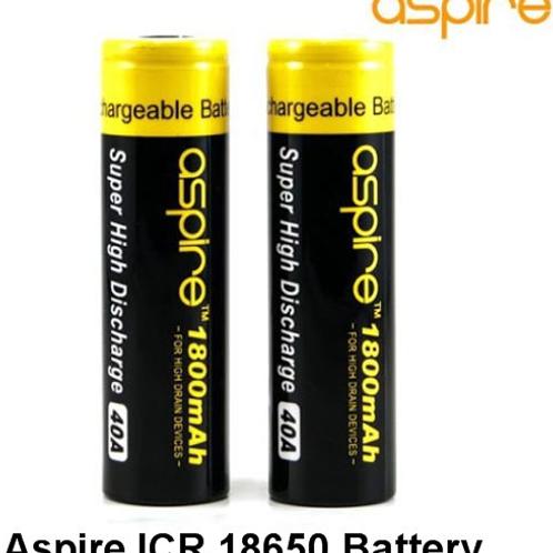 Аккумулятор 18650 Aspire ICR 1800 mah
