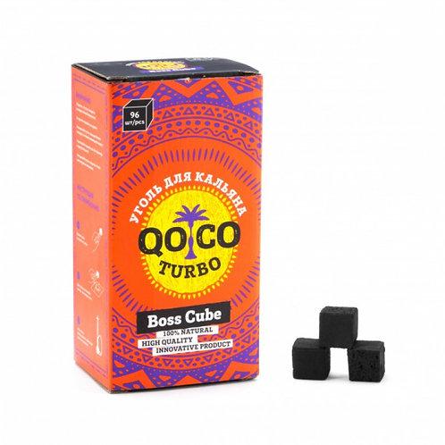 Уголь Qo Co Turbo 96шт (22мм)