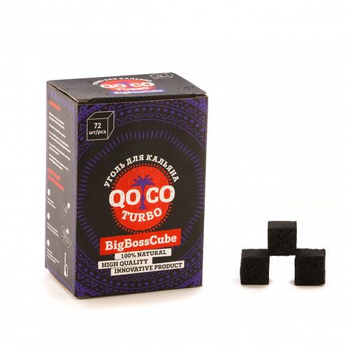 Уголь Qo Co Turbo 72 шт (25мм)