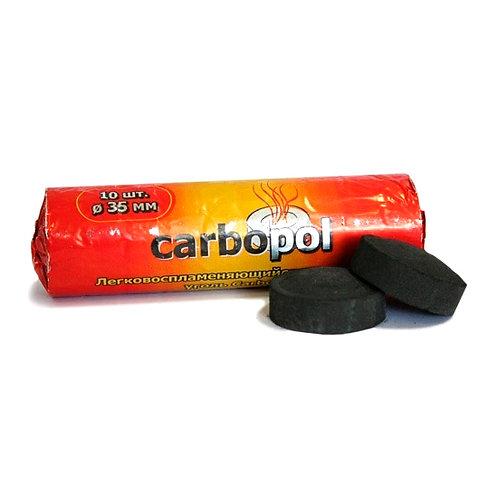 Уголь Carbopol 10 шт (35мм)