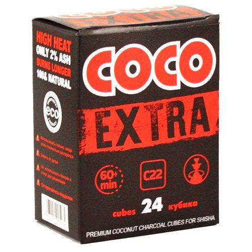 Уголь Coco Extra 24 шт (22мм)