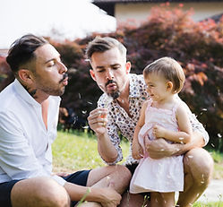 Couple with Daughter