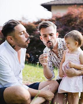 Pareja Gay con Hija