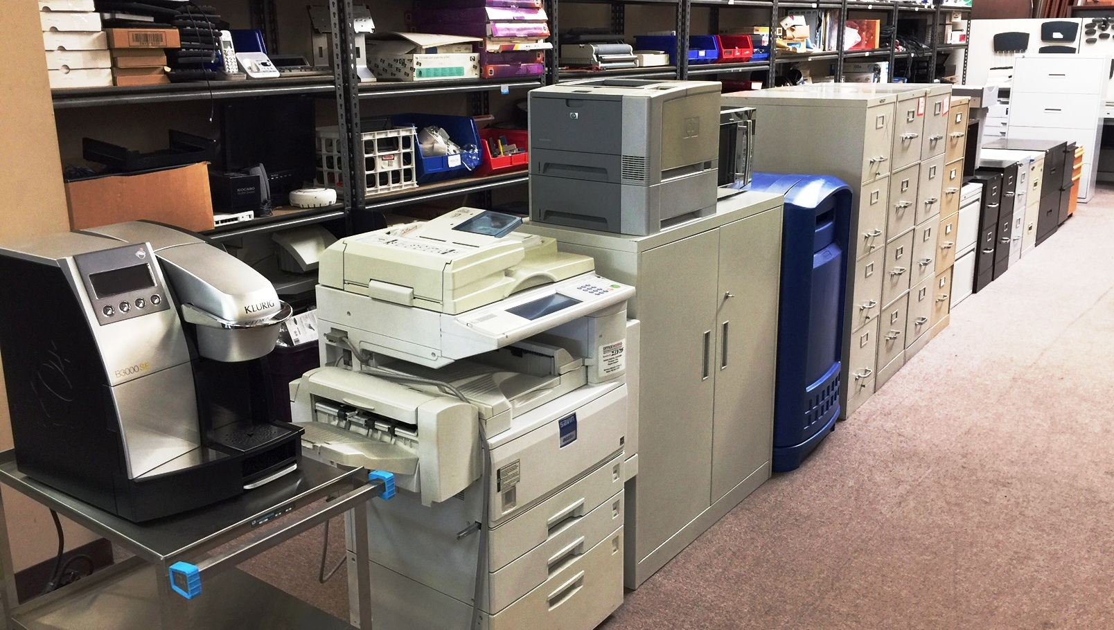 Copiers - FileCabinets - Coffee Makers and More