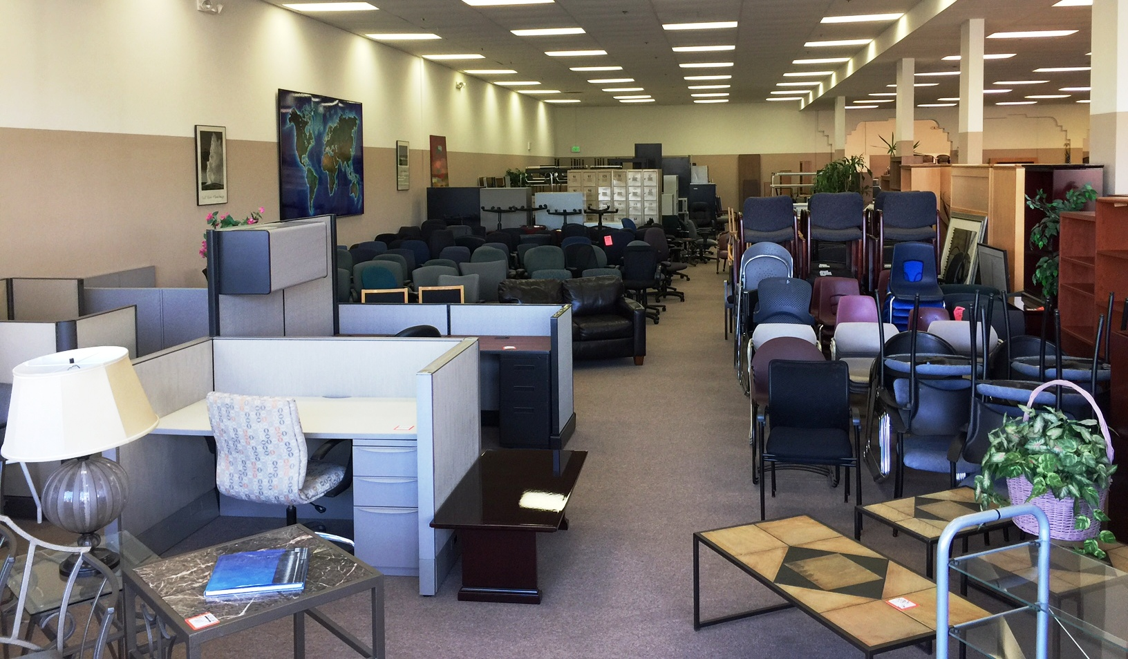 Large Room View of Office Furniture Riverside