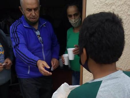 Centro Espírita Amigos de Jesus vai distribuir sopa para cem pessoas