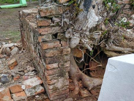 Homem viola sepultura no Cemitério do Cerro Agudo