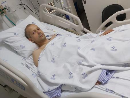 Após cirurgia de nove horas, Rogério passa bem e respira sem ajuda de aparelhos
