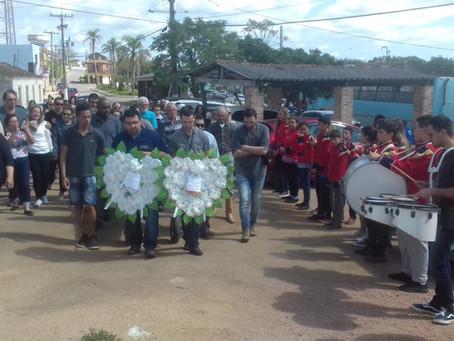Comunidade escolar se despede do mestre Chiquinho, falecido aos 61 anos