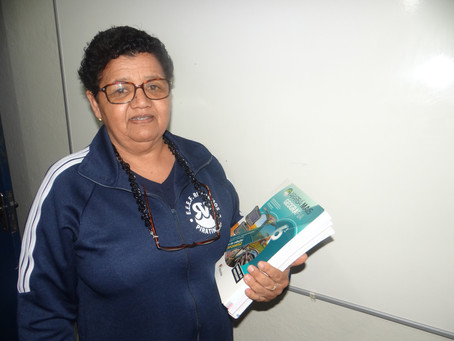 Professora Rosa será homenageada com a medalha Zumbi e Dandara dos Palmares