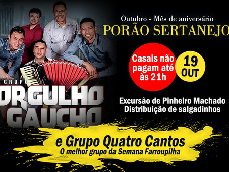 Porão Sertanejo começa neste sábado as comemorações de 15 anos da casa noturna