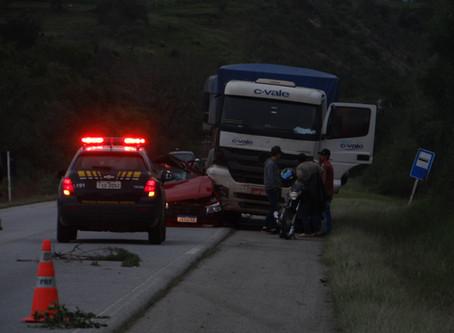 Urgente: Grave acidente causa morte de agricultor na BR 293, em Piratini