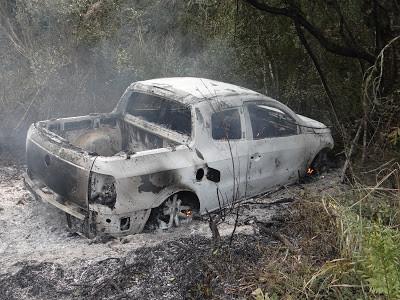 Empresário é sequestrado, roubado e tem o carro incendiado na ERS- 702