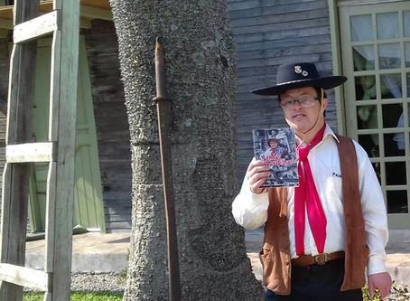 Poeta piratiniense com  Síndrome de Down, lança a nova edição do Projeto Lendas Farroupilhas
