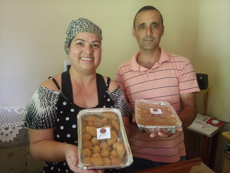 Para enfrentar a crise, casal cria empresa de doces e salgados caseiros  e faz sucesso em Piratini