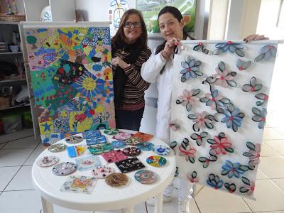 Oficinas ajudam pacientes internados na ala Dr Piva em Piratini