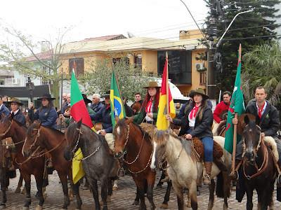 Cavalarianos de Piratini definem busca da Chama Crioula em Arroio Grande