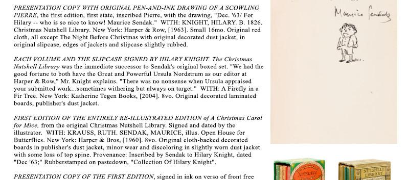 Lot 30 The World of Hilary Knight at Bon