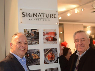 Design Industry Winter Social with Hans Krug and Signature Kitchen Suite