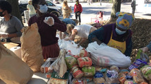 MANHATTAN CHAPTER HELPS LOCAL FOOD PANTRY COMMUNITY SOLIDARITY