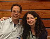 Steve Metzger with his daughter, Julia