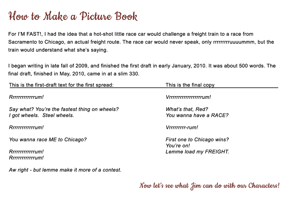 How to Make a Picture Book