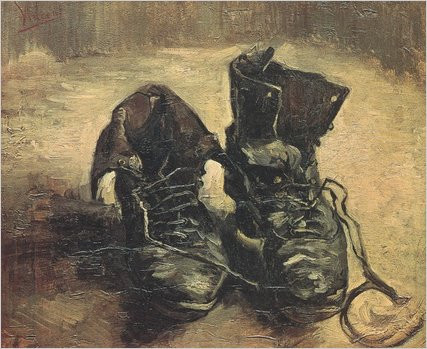 Vincent van Gogh A Pair of Shoes, 1886