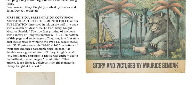 Lot 29 The World of Hilary Knight at Bon