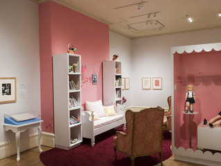 Eloise graces us with her presence at the New-York Historical Society