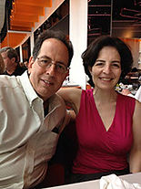 Steve Metzger with his wife, Nancy