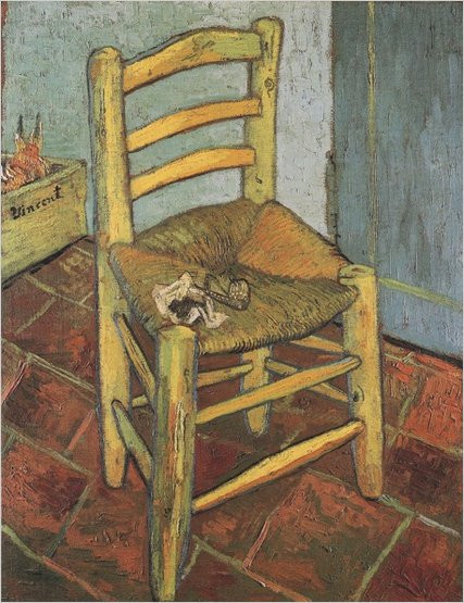 Vincent van Gogh Van Gogh's Chair, 1888