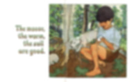 James McMullan, Artist & Illustrator   Children's Books   The Earth Is Good ©