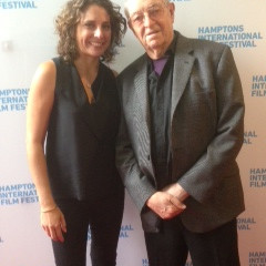 Hilary at the Hamptons International Film Festival