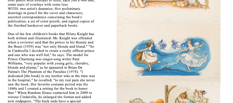 Lot 36 The World of Hilary Knight at Bon