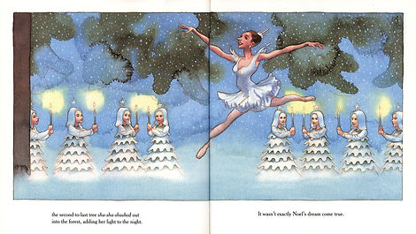 James McMullan, Artist & Illustrator | Children's Books | Nutcracker Noel ©
