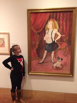 Eloise and an Admirer