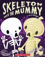 Skeleton and the Mummy, by Steve Metzge