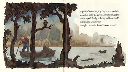 James McMullan, Artist & Illustrator | Children's Books | Papa's Song ©
