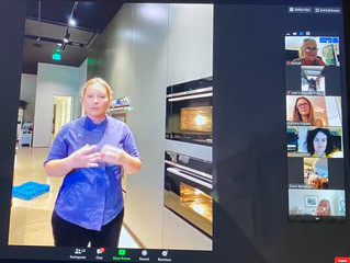 FISHER & PAYKEL HOSTS CHAPTER MEETING & COOKING DEMO