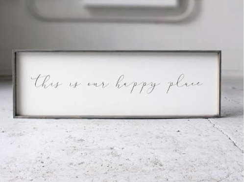 This Is Our Happy Place - William Rae Designs