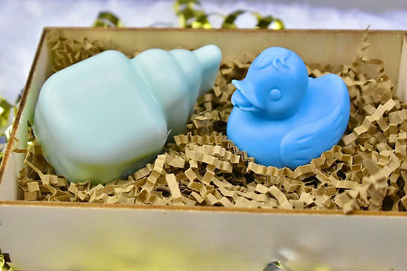 3. Blue Ducky Gift Box