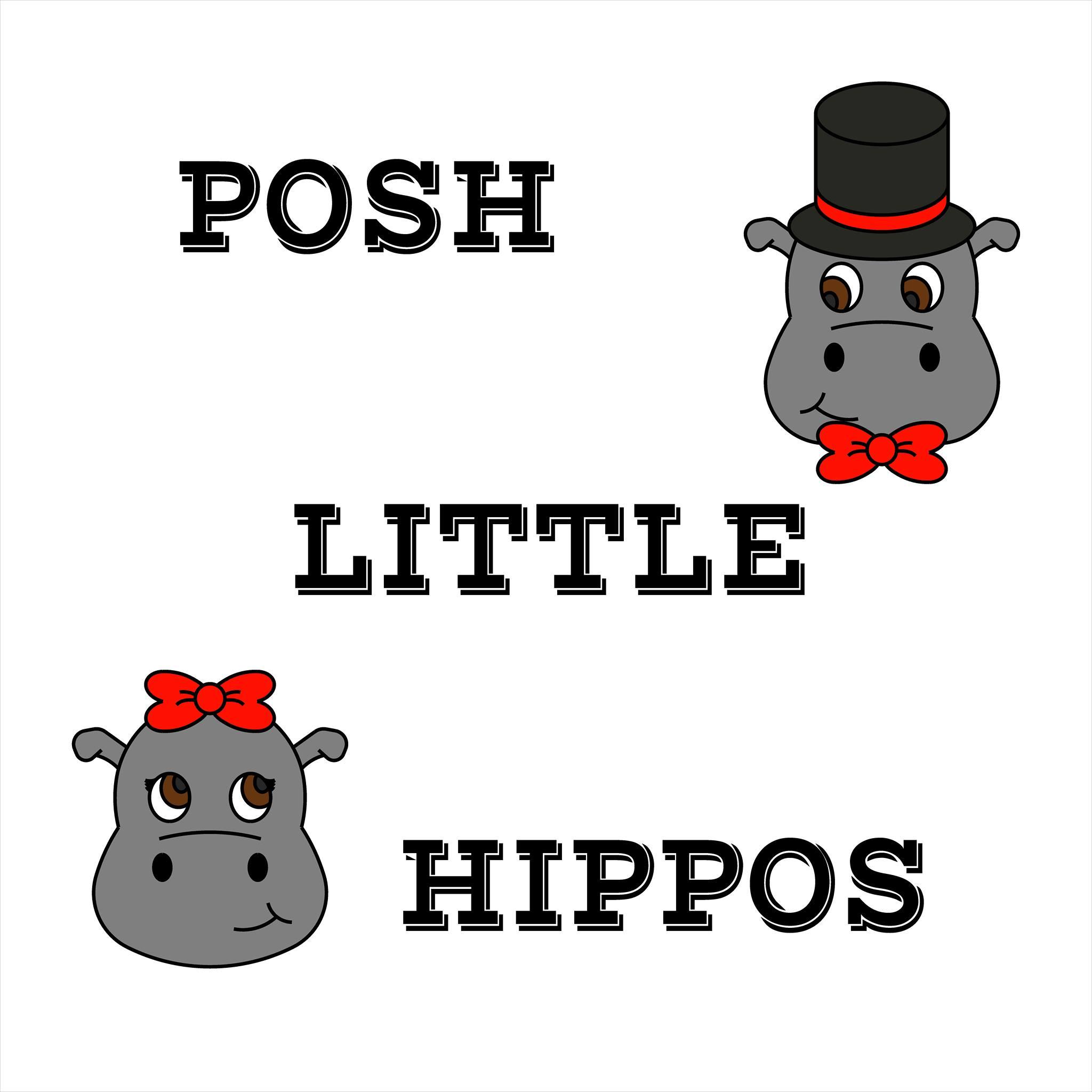 Posh Little Hippos