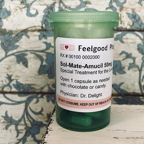 Sol-Mate-Amucil / Message In A Bottle - Remedy Medicine For The Soul