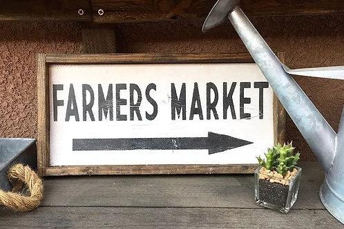 Farmers Market 8x7 - William Rae Designs