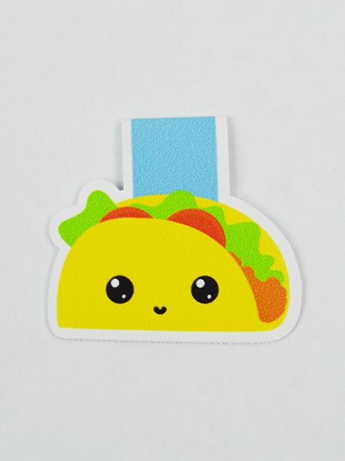 Taco -Magnetic Bookmark - IM Paper