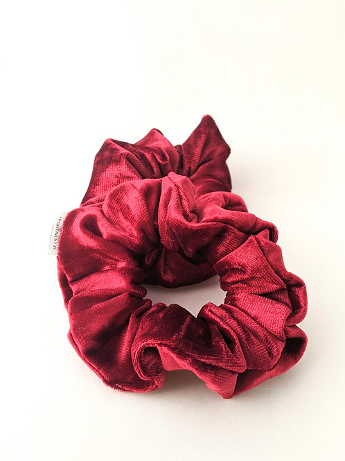 Red Velvet Cake Scrunchies - High Tails YYC