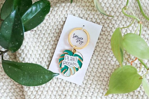 Plant Person Keychain - Spruce + Sky