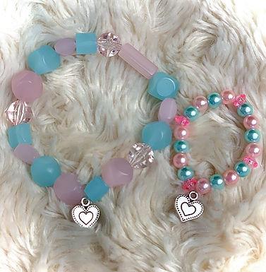 I. Mommy and Me Bracelet Set